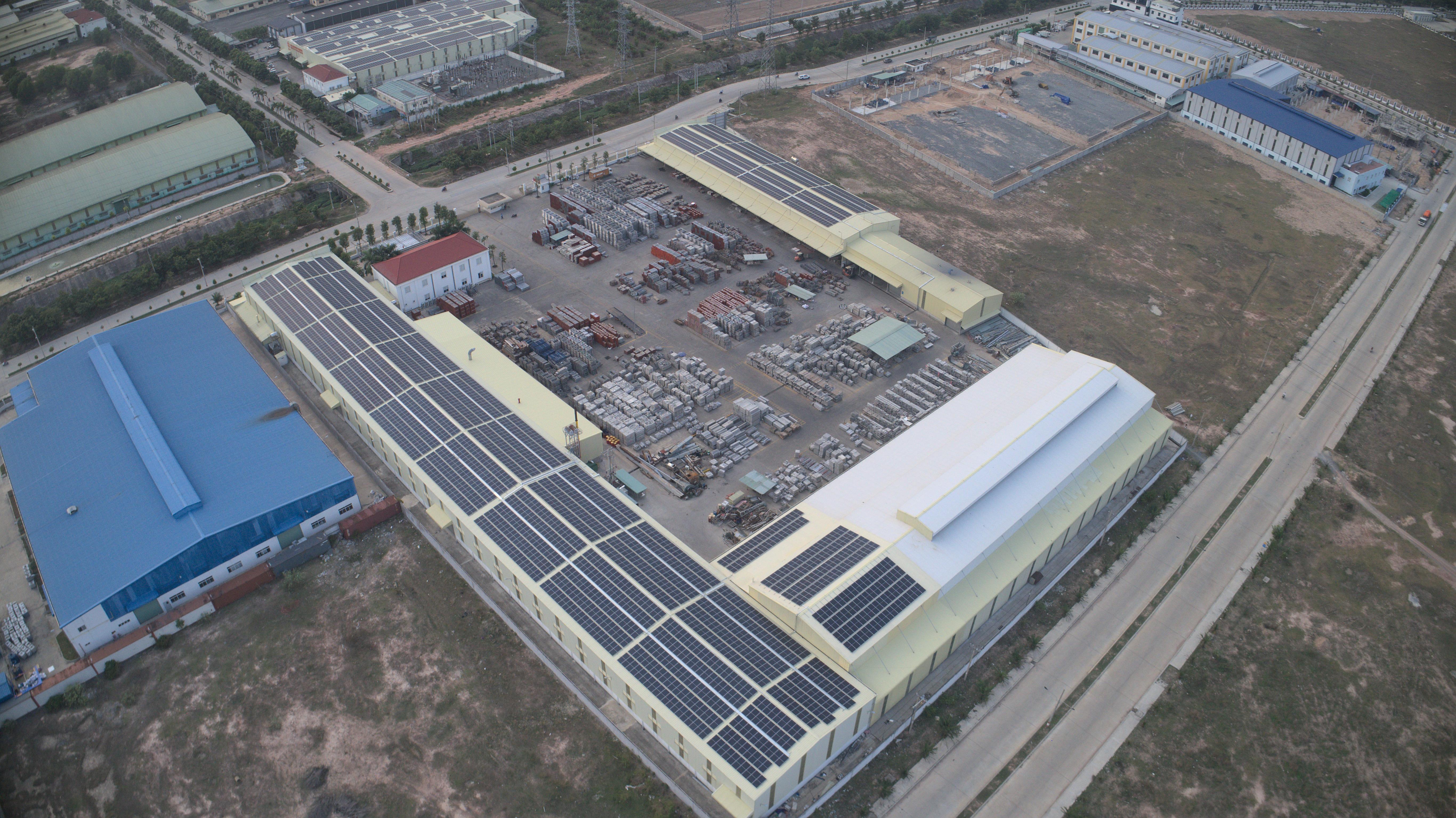 EGE điện mặt trời nhà máy